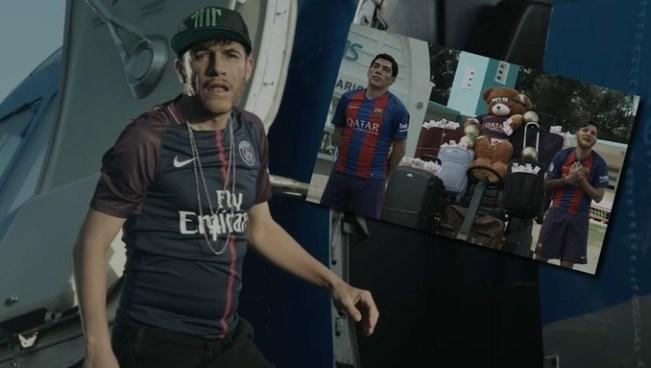 VÍDEO | Se hace viral la parodia de despedida de Messi y Suárez a Neymar