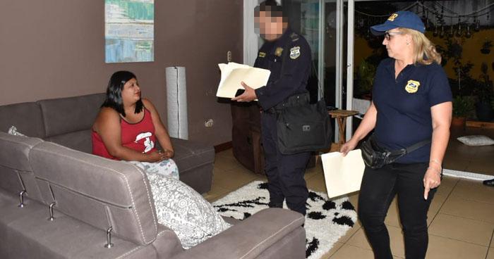 Abogadas y agente de la PNC capturados por colaborar con pandilleros