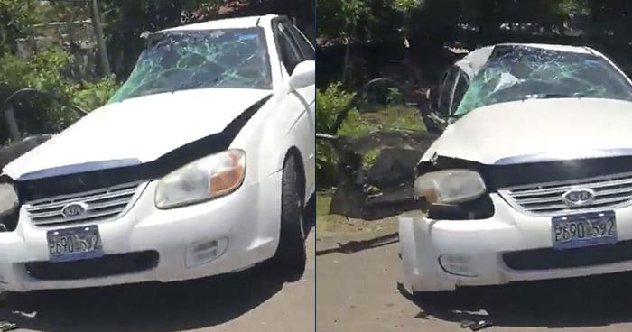 Trabajadora municipal de Acajutla muere en grave accidente