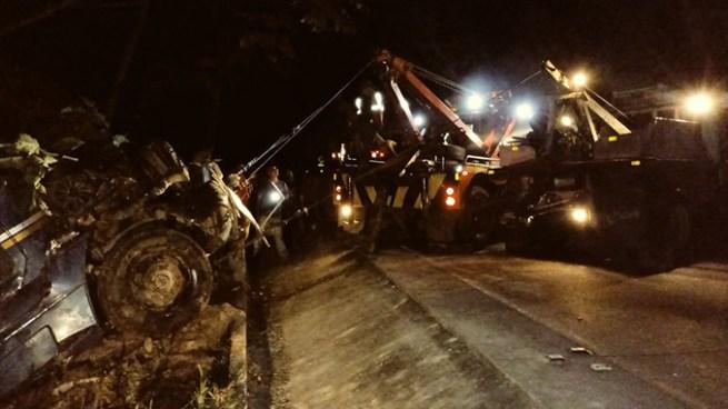 Varios accidentes de tránsito se registraron la noche del miércoles dejando lesionados