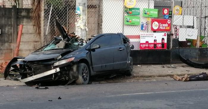 Un fallecido tras fuerte accidente de tránsito en carretera Troncal del Norte