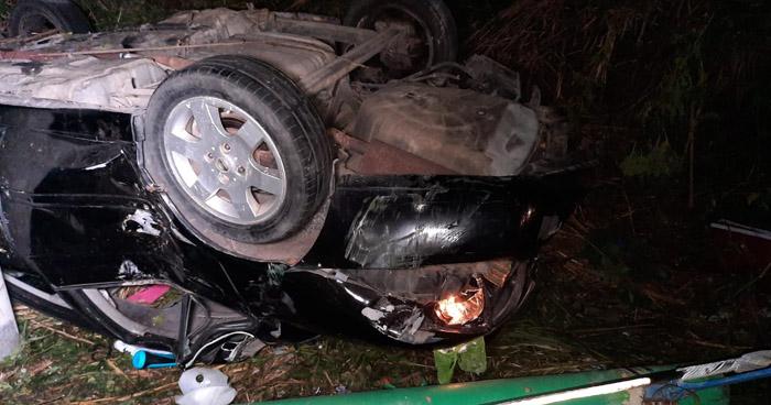 Varios lesionados tras accidentes en autopista a Comalapa
