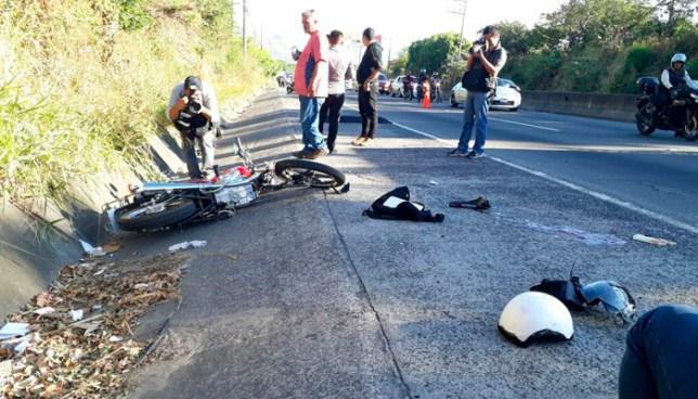Motociclista fallecido tras accidentarse en bulevar Constitución