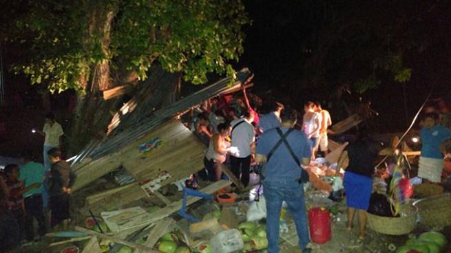 Cuatro muertos y seis lesionados luego que una rastra nicaragüense se estrellara en un chalet