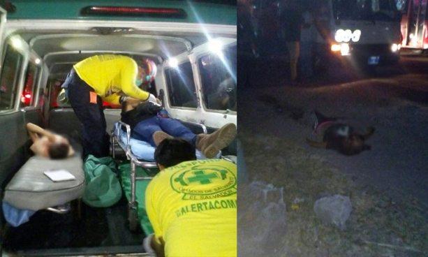 Al menos un muerto y tres lesionados tras ser atropellados por un microbús en carretera Troncal del Norte