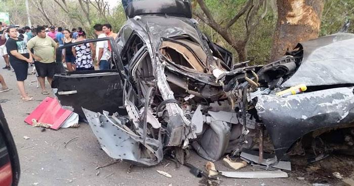 Aparatoso accidente provocado por conductor ebrio deja 2 fallecidos en La Unión