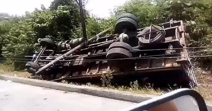 Un fallecido tras grave accidente de tránsito sobre carretera Litoral en Usulután