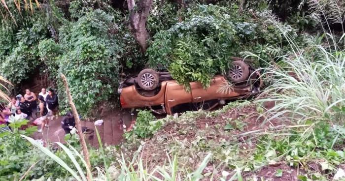Seis lesionados tras accidente en carretera a Juayúa, Sonsonate