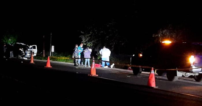 Cabo de la PNC muere en accidente de tránsito en carretera Troncal del Norte
