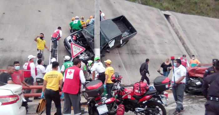 Fuerte accidente se registró esta mañana en Paso del Jaguar