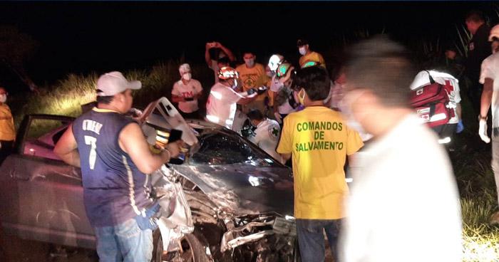 Al menos 10 lesionados tras fuerte accidente en carretera a Quezaltepeque