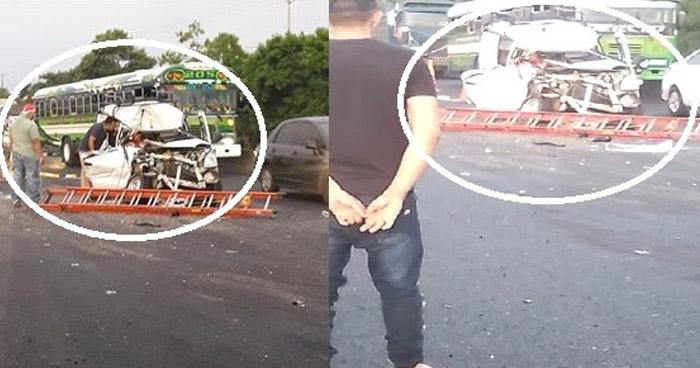 Un muerto en grave accidente sobre carretera de Sonsonate