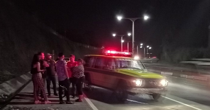 Dos lesionados tras accidente en Bulevar Monseñor Romero