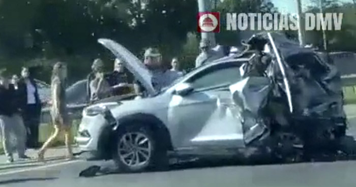Salvadoreña muere en aparatoso accidente en Estados Unidos