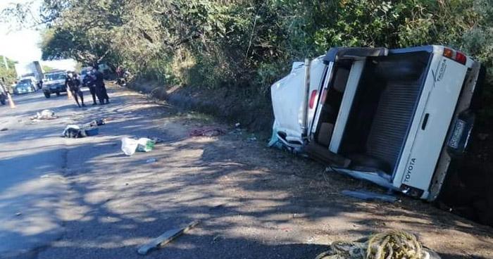 Un fallecido y 3 lesionados tras fuerte accidente en Santa Rosa de Lima, La Unión