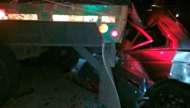 Dos personas perdieron la vida, tras grave accidente de tránsito en carretera a Sonsonate