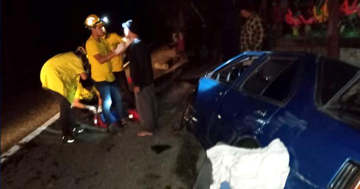 Mujer muere luego de ser arrollada por un automovilista en Apastepeque