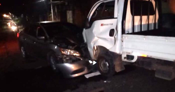 Agente de la STO fallecido y otro lesionado tras choque en Zacatecoluca
