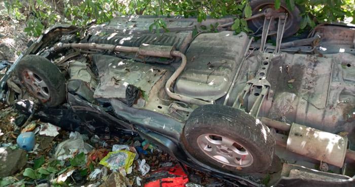 Un fallecido tras grave accidente en carretera Troncal del Norte, en Chalatenango