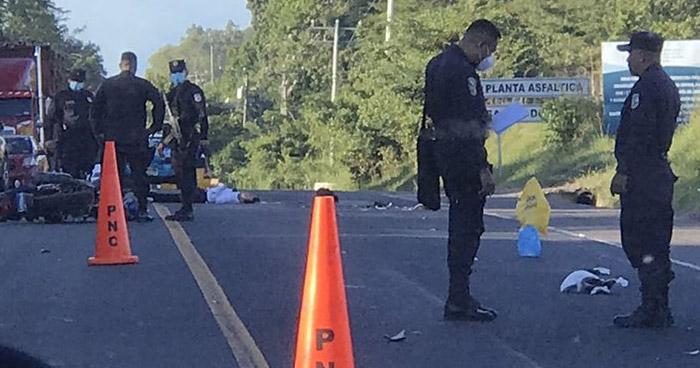Un fallecido y otro lesionado tras accidente de motocicleta en carretera Troncal del Norte