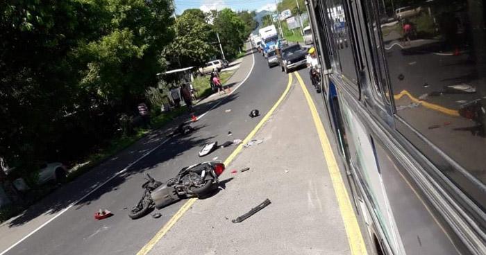 Mujer muere tras grave accidente sobre carretera Troncal del Norte