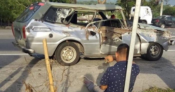 Un muerto deja choque sobre carretera Troncal del Norte