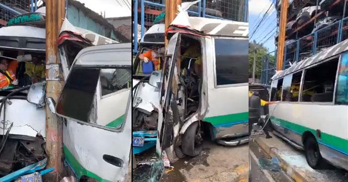 Grave accidente mantiene cerrado el Bulevar Venezuela cerca de terminal del occidente