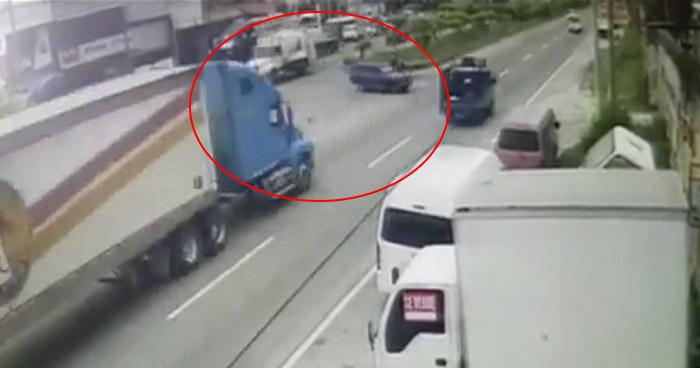 VIDEO | Así ocurrió el trágico accidente de tránsito sobre carretera de Oro