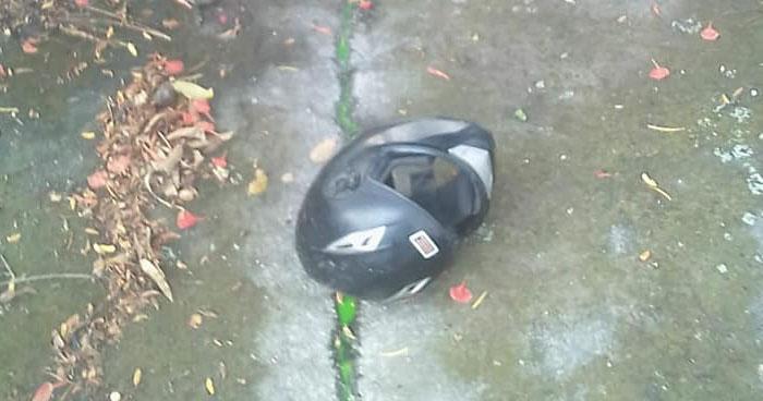 Motociclista muere al chocar en calle de Zacatecoluca, La Paz