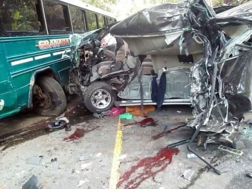 Más de 560 personas fallecidas en accidentes de tránsito en lo que va del año