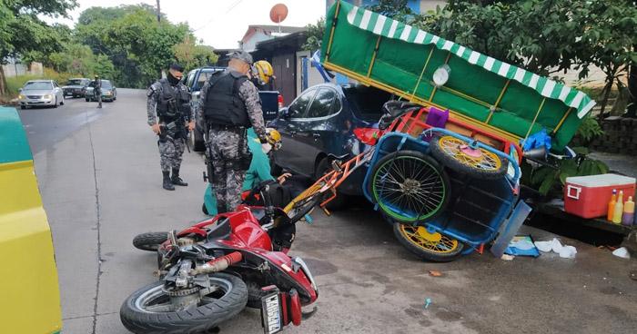 Un fallecido y 21 lesionados tras racha de accidentes registrados este jueves