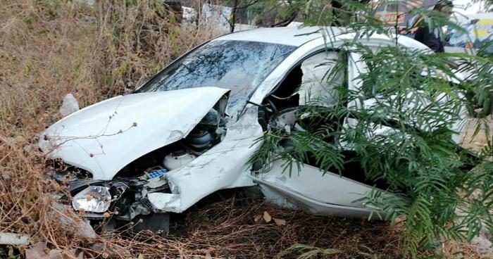 Tres lesionados en dos accidentes de tránsito en La Libertad