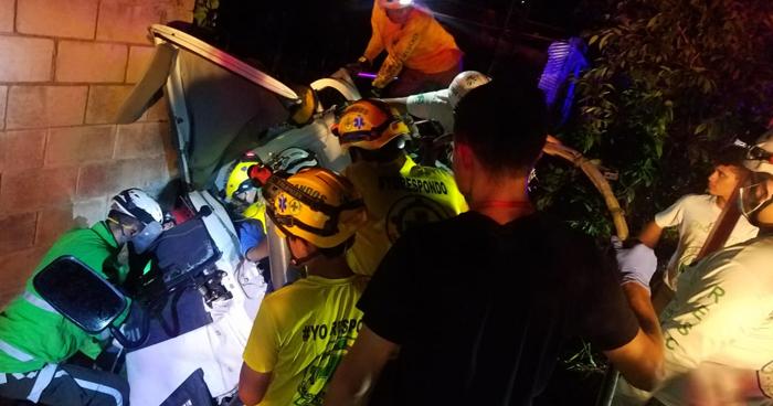 Cuatro lesionados en dos accidentes de tránsito registrados en las últimas horas