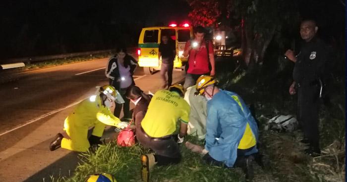 Tres lesionados tras accidentes de tránsito registrados en diferentes carreteras