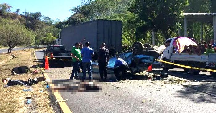 Mas de 50 personas murieron en accidentes de tránsito durante periodo de Navidad y Fin de Año