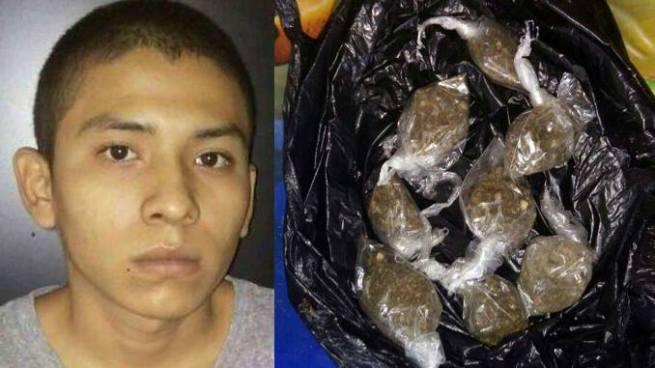 Capturan adolescente por el delito de posesión y tenencia de drogas