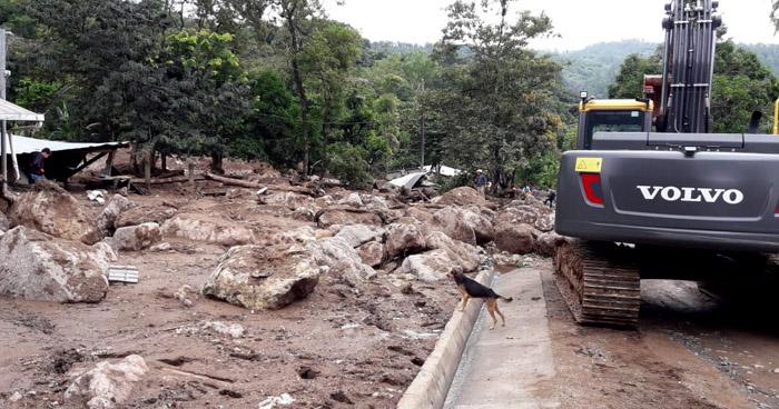 Más de 1,300 albergados y decenas de viviendas afectadas dejan lluvias en El Salvador