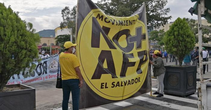 Organizaciones exigen la derogatoria de la Ley SAP que dio vida a las AFP´s