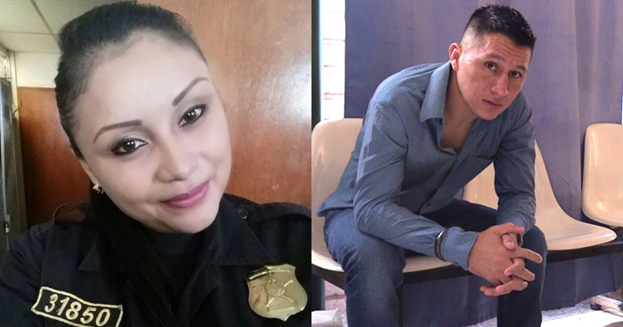 Condenan a 50 años de cárcel por asesinar a su pareja, una agente de la PNC