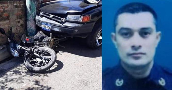 Muere agente PPI al ser arrollado por un vehículo en Santa Ana
