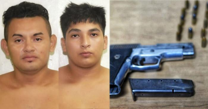 Tres pandilleros capturados tras atacar a agentes de la PNC en Guazapa
