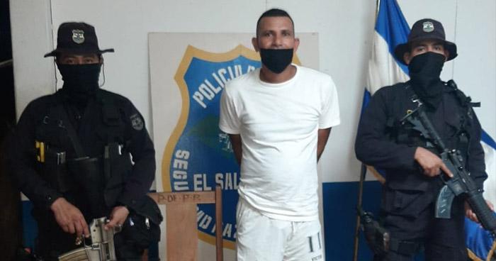 Capturado por disparar contra elementos de la PNC en La Paz