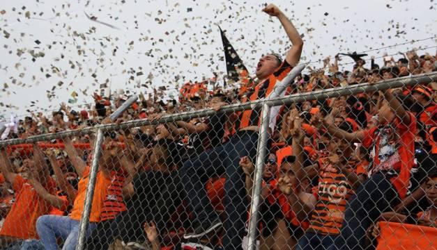 La multa que Águila pagará por los incidentes en el Estadio Barraza