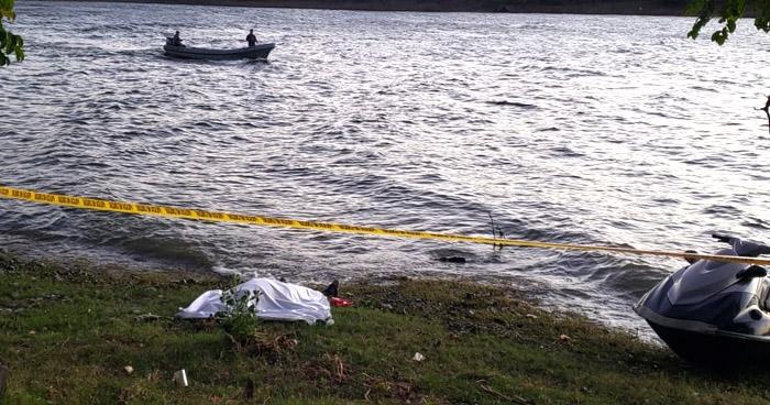 Ubican cadáver de una persona que ayer sufrió accidente acuático en Lago de Güija