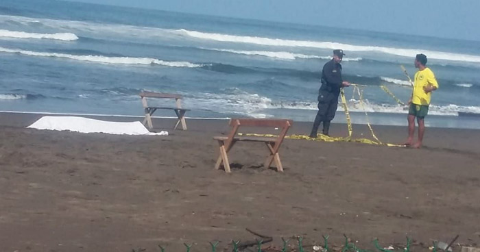 Joven guatemalteco muere ahogado en playa Metalío