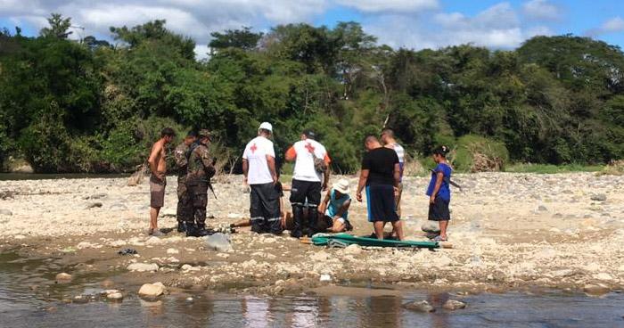Hombre muere ahogado en Nueva Concepción, en Chalatenango