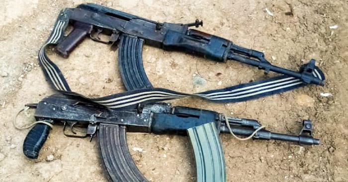 Capturados por portación de armas de guerra, estafa y agresión sexual