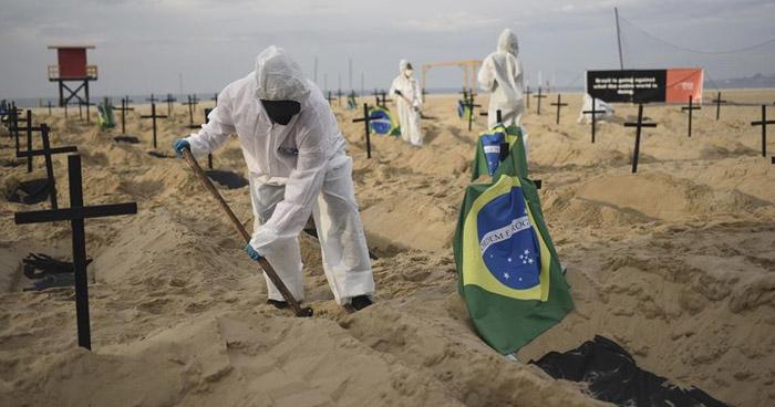 América Latina y el Caribe supera los 5 millones de contagios de COVID-19