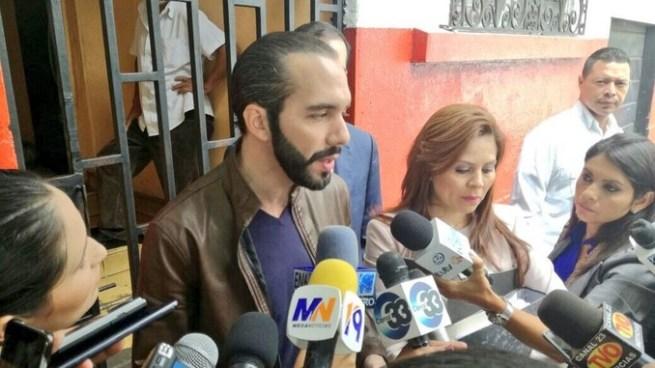 """Nayib Bukele: """"Cada vez como que son menos las diferencias entre ARENA y el FMLN"""""""