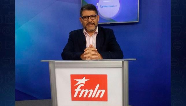 Alcalde de San Marcos envía mensaje a las principales figuras que dirigen el FMLN: ¡Renuncien!